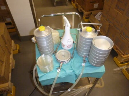 Asbestikartoitus ilmanäyte Saneeraustekniikka Sartek Oy